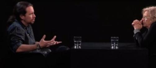 Pablo Iglesias entrevista a Manuela Carmena