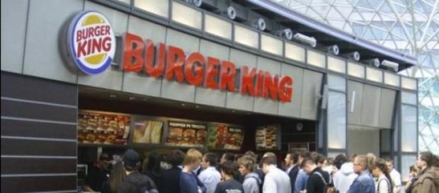 Burger King at Złote Tarasy Warszawa, Poland