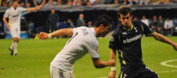 Cristiano Ronaldo en el Real Madrid.