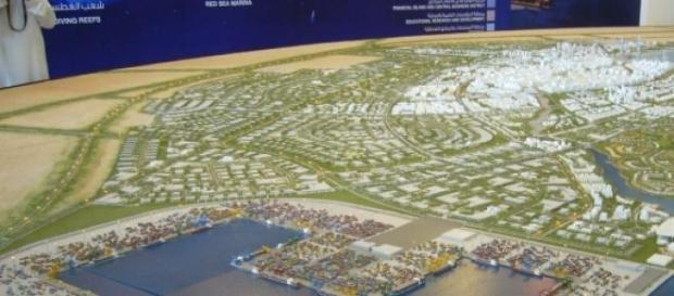 King Abdullah Economic City Saudi-Arabien