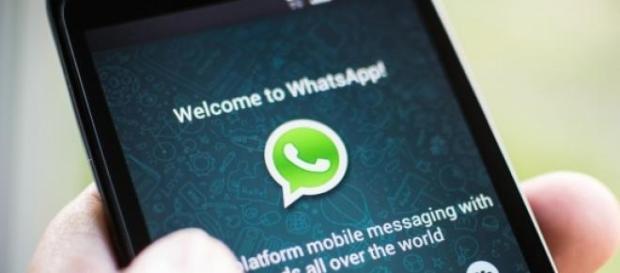 Populara aplicație WhatsApp .