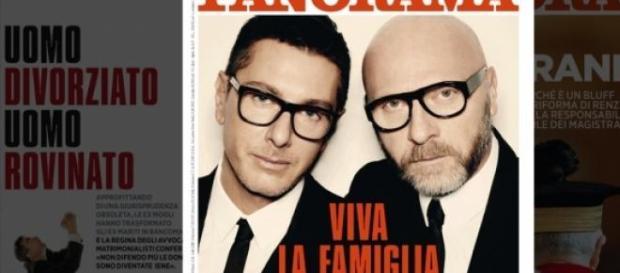 "Portada de la revista italiana ""Panorama"""