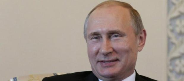 The Russian President reacted with humour