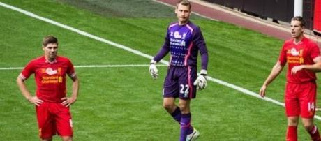 Gerrard, Mignolet and Henderson were in action