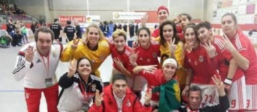 Benfica campeão europeu de hóquei feminino