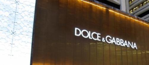 Cartel de la marca Dolce & Gabbana