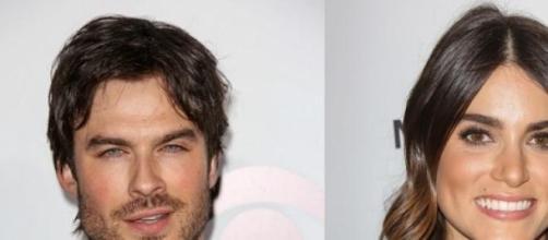 Ian Somerhalder y su novia Nikki Reed