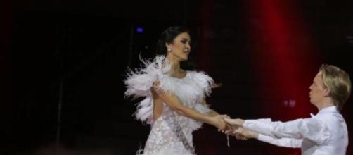 Leila Ben Khalifa et son danseur