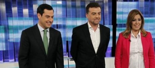Los candidatos al gobierno andaluz