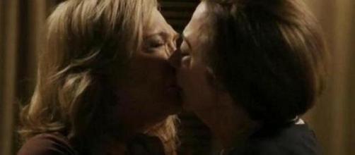 O amor entre Estela e Tereza foi um dos destaques
