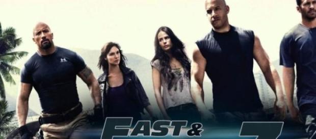 Cartel de la película, 'Fast and Furious'.