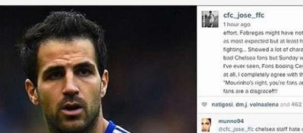 Filho de Mourinho critica adeptos do Chelsea