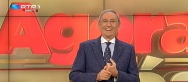 Júlio Isidro apresentou o 'Agora Nós'.