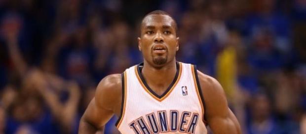Serge Ibaka, jogador dos Oklahoma City Thunder