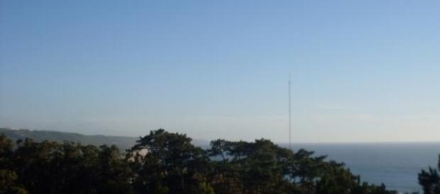 Vista do Atlântico, que banha Portugal