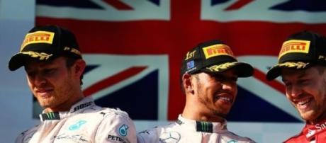 Lewis Hamilton won the Australian GP in Melbourne