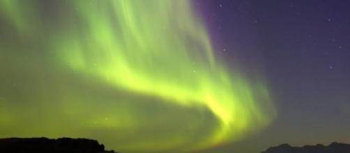 Aurora boreal foi vista mais a sul que o habitual