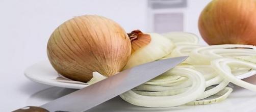 Faca bem afiada é eficiente para o corte da cebola