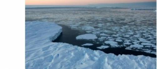 La mer de Barents a perdu 50% de sa banquise.