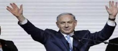 Netanyahu minutos después de su victoria.