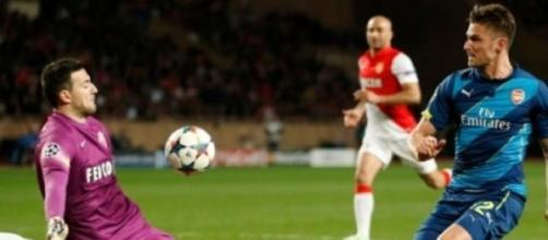 Subasic foi um muro contra o Arsenal