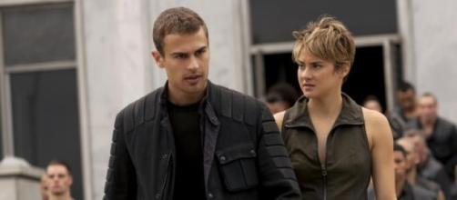 Tris (Shailene) e Tobias (Theo James) - Insurgente