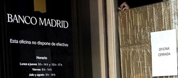 El FROB definirá si Banco Madrid continúa operando