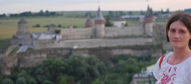 M. Czerwieniec na Ukrainie (arch. prywatne)