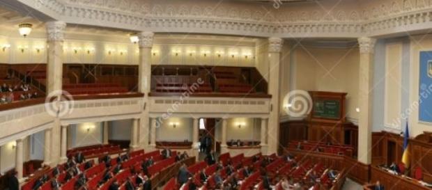 Plenul Parlamentului Ucrainean
