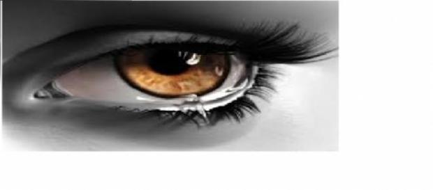 Uma lágrima pode contar cada história
