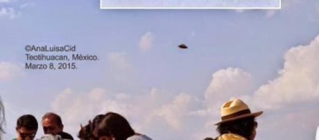 Avvistamento Ufo vicino alla Piramide del Sole.