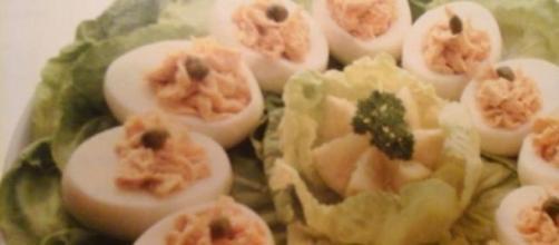 Antipasti vegetariani, piatti belli da vedere.