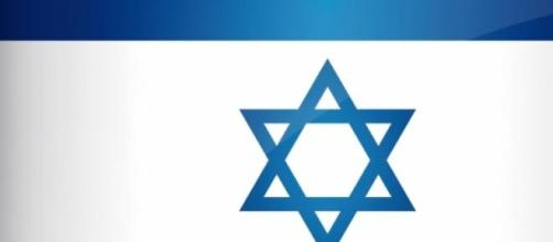 Flag that defines Israel's re - elected Premier