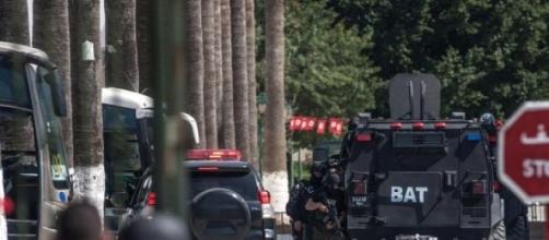I corpi speciali in azione durante l'attacco