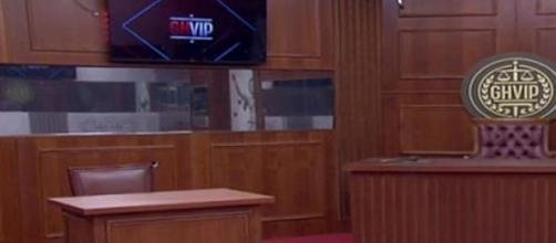 La sala de juicios o la sala de la verdad