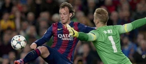 Ivan Rakitic scored for Barcelona