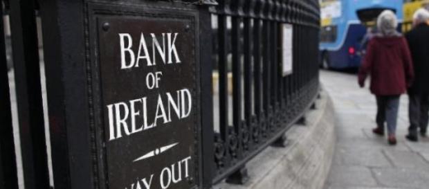 La Banque d'Irlande à Dublin le 11 décembre 2013