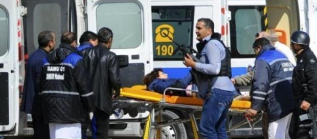 Mais de 40 pessoas ficaram feridas.