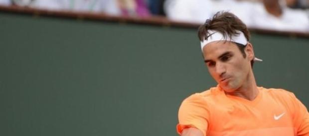Roger Federer está nos quartos-de-final de IW
