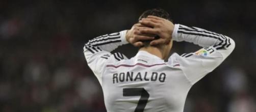Cristiano Ronaldo estuvo gris todo el partido.