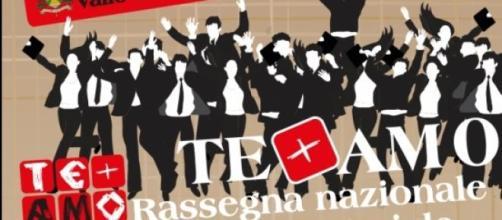 Locandina Rassegna Teatro Amatoriale - Vallo (SA).