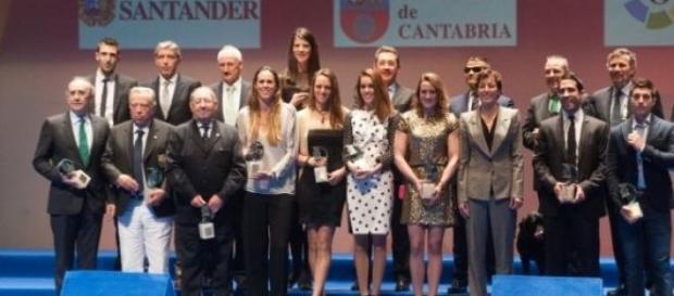 Premiados en la Gala Nacional del Deporte