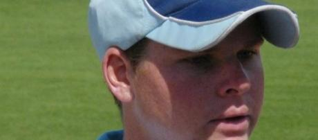 Steve Smith held the Aussie innings together