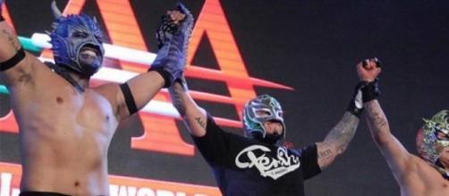 Rey Mysterio regresó a Tijuana