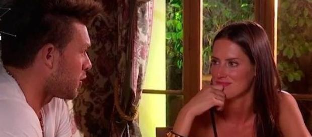 Cena romántica de Leandro Penna con Adriana