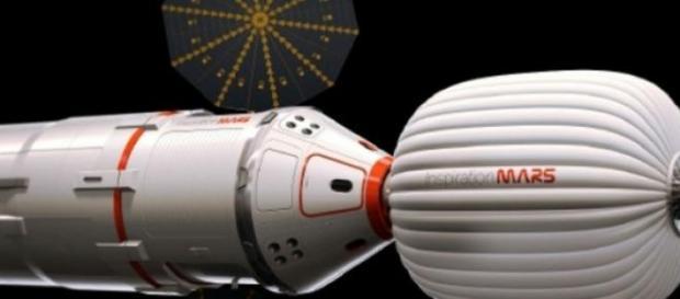 Es un ambicioso proyecto de colonización marciana