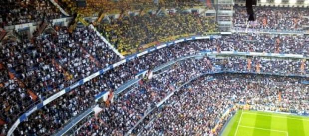 Estadio del equipo de fútbol Real Madrid
