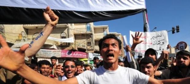 Scene from the 2011-2012 Yemeni Revolution