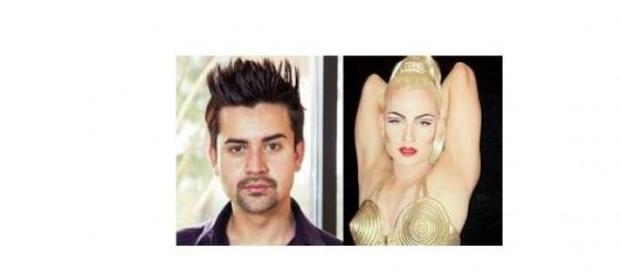 Daniel Adams a devenit Madonna,super idolul sau