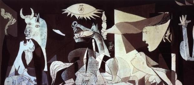 Guernica é uma das obras de Picasso mais famosas.